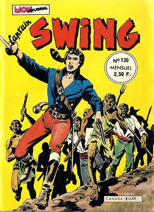 Couverture de Capt'ain Swing! (1re série) -130- La révolte des esclaves