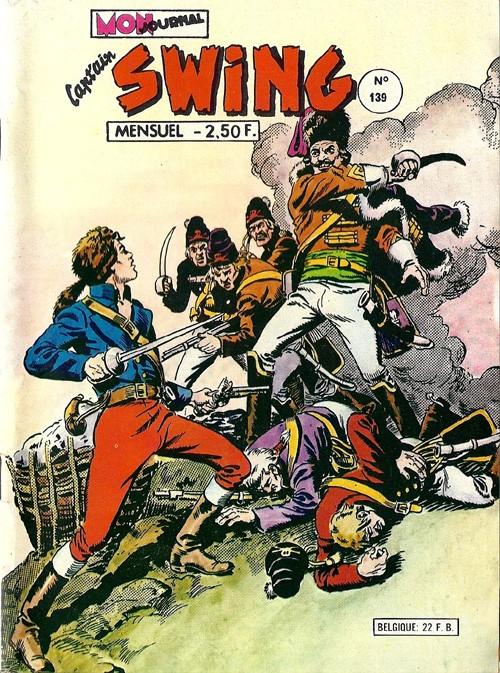 Couverture de Capt'ain Swing! (1re série) -139- Hussards de la mort