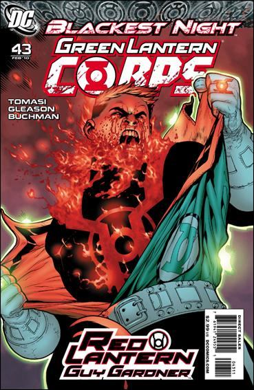 Couverture de Green Lantern Corps (2006) -43- Red badge of rage
