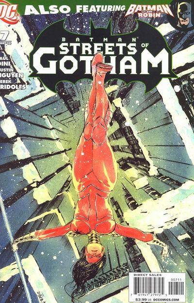 Couverture de Batman: Streets of Gotham (2009) -7- In the bleak mindwinter
