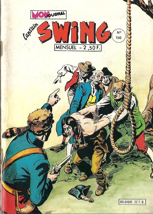 Couverture de Capt'ain Swing! (1re série) -140- Mister Bluff ?... Disparu !