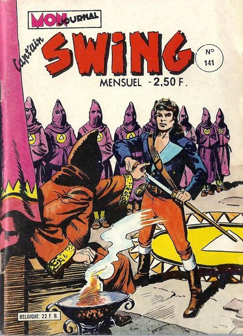 Couverture de Capt'ain Swing! (1re série) -141- La trahison de Mister Bluff