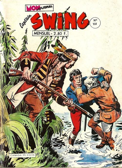 Couverture de Capt'ain Swing! (1re série) -151- Le mystère de Zerbine