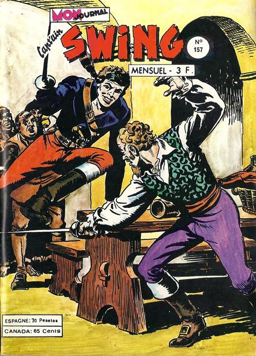 Couverture de Capt'ain Swing! (1re série) -157- Le cercueil à voiles