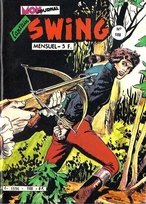 Couverture de Capt'ain Swing! (1re série) -188- Le château maudit