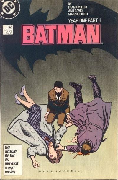 Couverture de Batman (1940) -404- Year 1 (Part 1) - Who I am, how I come to be