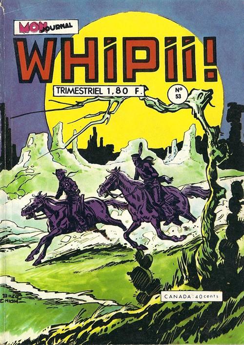 Couverture de Whipii ! (Panter Black, Whipee ! puis) -53- Konnan Joe - Jack le noir