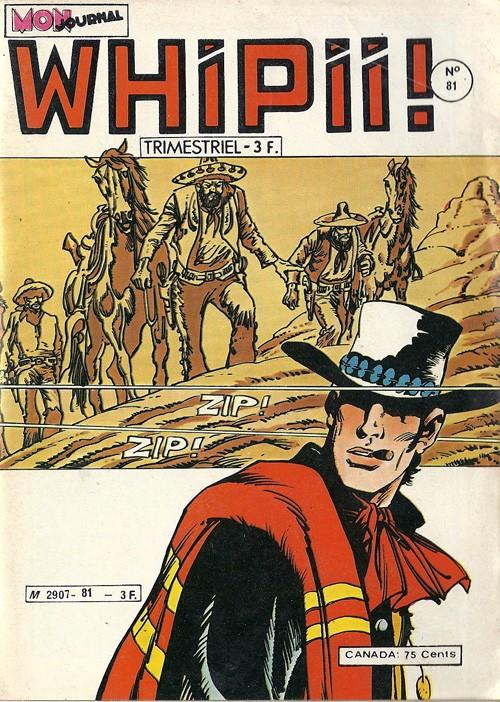 Couverture de Whipii ! (Panter Black, Whipee ! puis) -81- Numéro 81