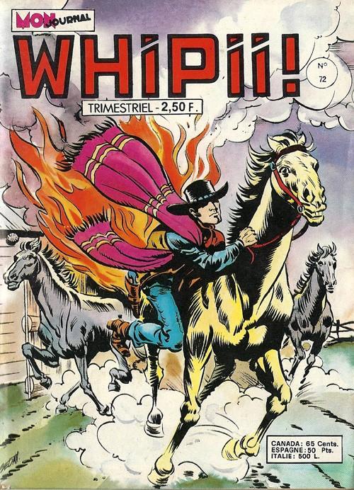 Couverture de Whipii ! (Panter Black, Whipee ! puis) -72- Stormy Joe - Le cavalier de la mort