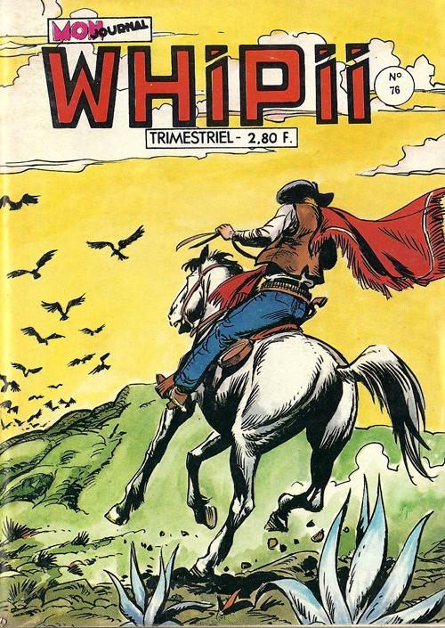 Couverture de Whipii ! (Panter Black, Whipee ! puis) -76- Stormy Joe - Qu'est devenu Stormy?