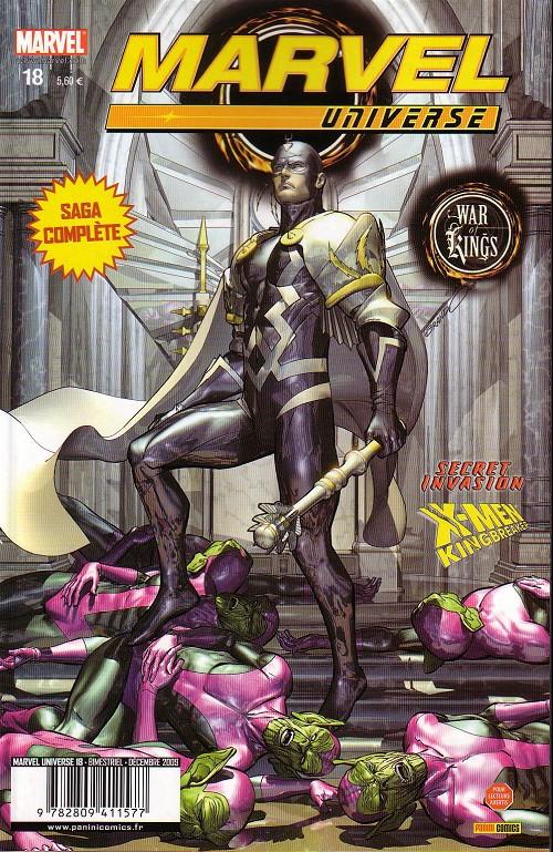Couverture de Marvel Universe (Panini - 2007) -18- War of Kings (1/7)
