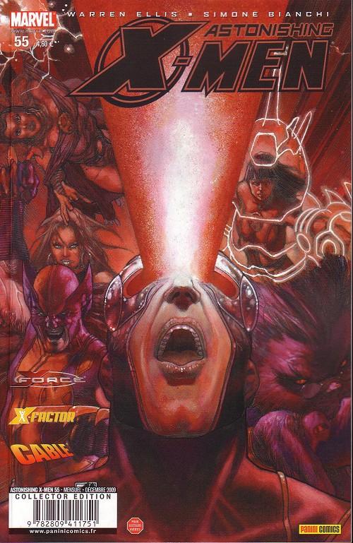 Couverture de Astonishing X-Men (kiosque) -55- En attendant la fin du monde