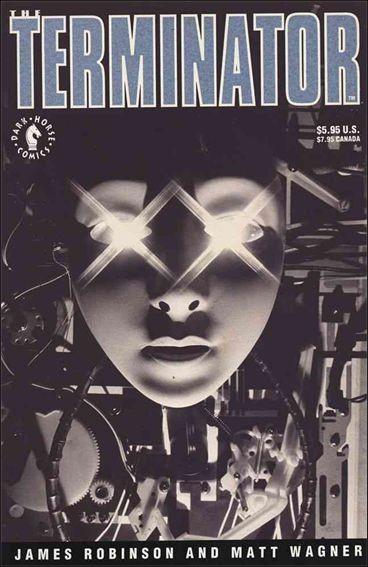 Couverture de The terminator: One Shot (1991) -GN- The Terminator