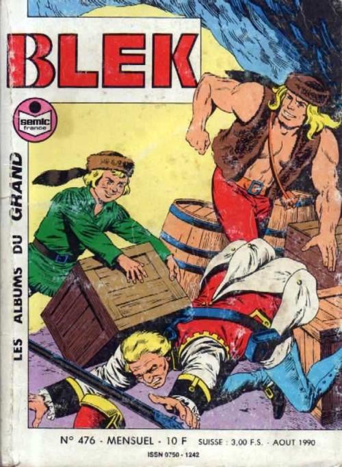 Couverture de Blek (Les albums du Grand) -476- Numéro 476