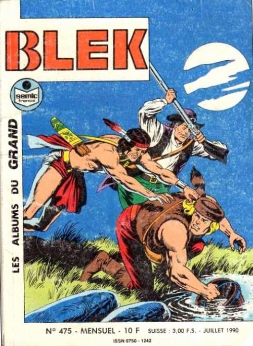 Couverture de Blek (Les albums du Grand) -475- Numéro 475