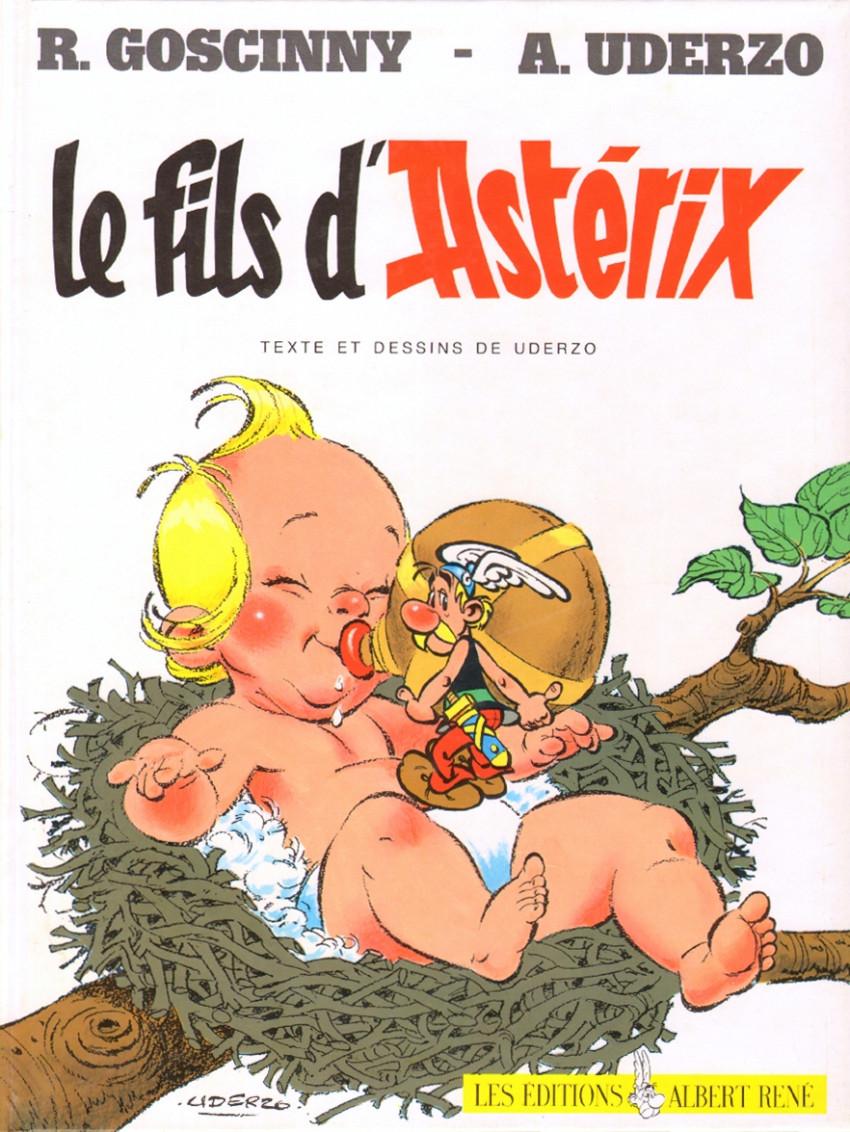 Couverture de Astérix -27- Le fils d'Astérix