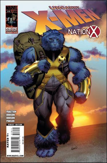 Couverture de Uncanny X-Men (The) (Marvel comics - 1963) -519- Nation x part 5