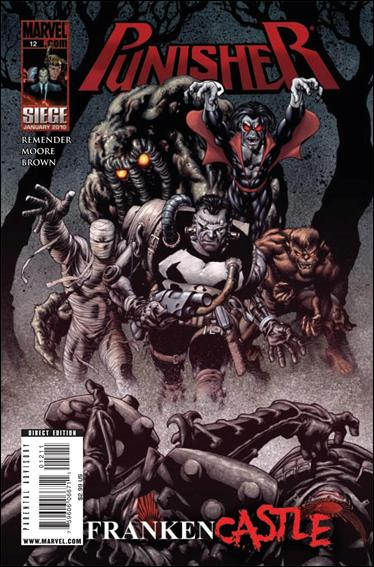 Couverture de Punisher Vol.08 (Marvel comics - 2009) (The) -12- Frankencastle part 2