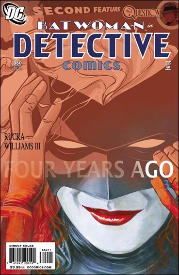 Couverture de Detective Comics (1937) -860- Four years ago