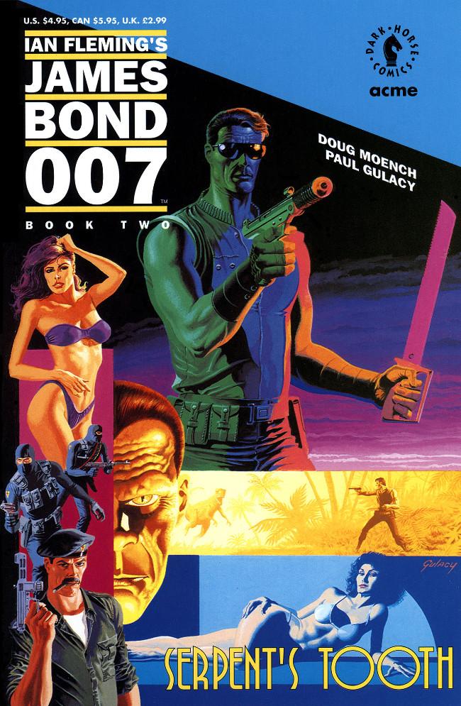 Couverture de James Bond: Serpent's Tooth (Dark Horse - 1992) -2- Blooded in eden