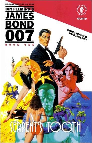 Couverture de James Bond: Serpent's Tooth (Dark Horse - 1992) -1- Book one