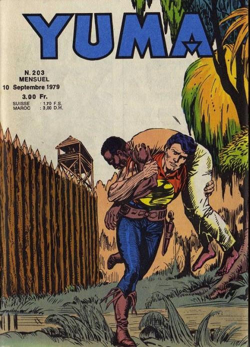 Couverture de Yuma (1re série) -203- À la rencontre des hommes perdus