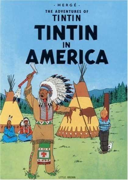 Couverture de Tintin (The Adventures of) -3- Tintin in America