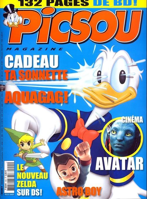 Couverture de Picsou Magazine -455- Picsou Magazine N°455