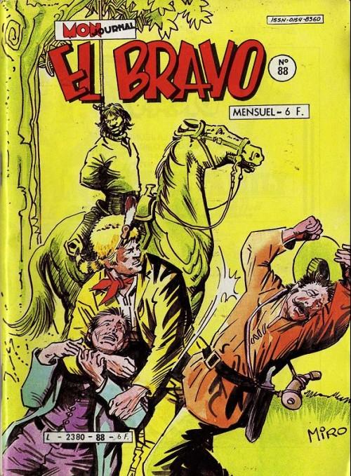 Couverture de El Bravo (Mon Journal) -88- Le Rossignol du