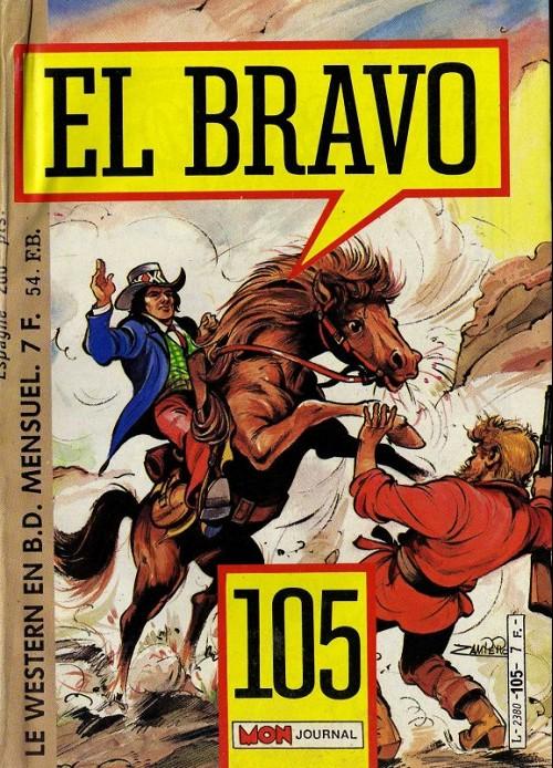 Couverture de El Bravo (Mon Journal) -105- Sur la piste du traître