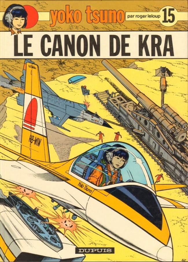 Couverture de Yoko Tsuno -15- Le canon de Kra