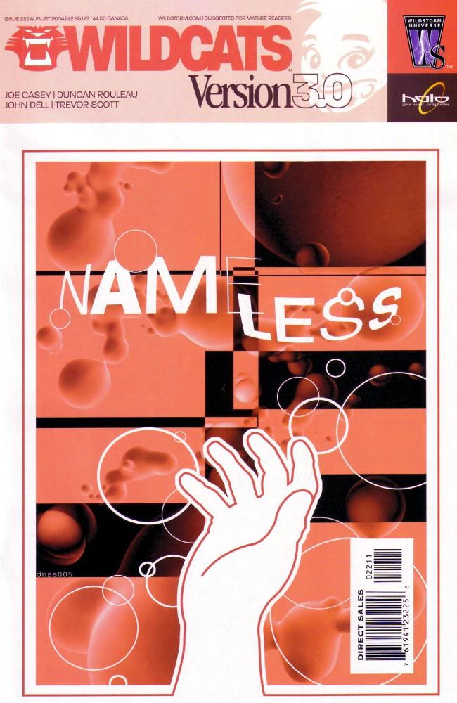 Couverture de Wildcats Version 3.0 (2002) -22- Nameless