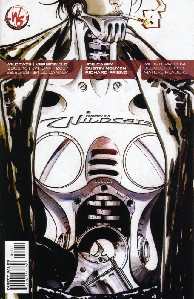 Couverture de Wildcats Version 3.0 (2002) -16- Something strange about the way reality shrugged