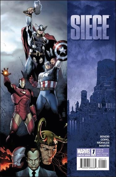 Couverture de Siege (2010) -1- Siege of asgard - phase one