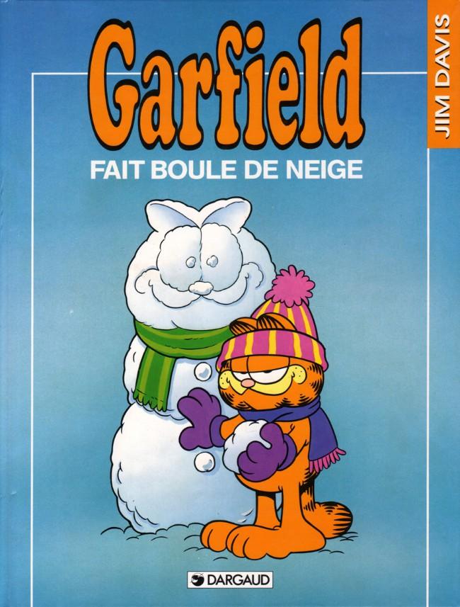 Couverture de Garfield -15- Fait boule de neige