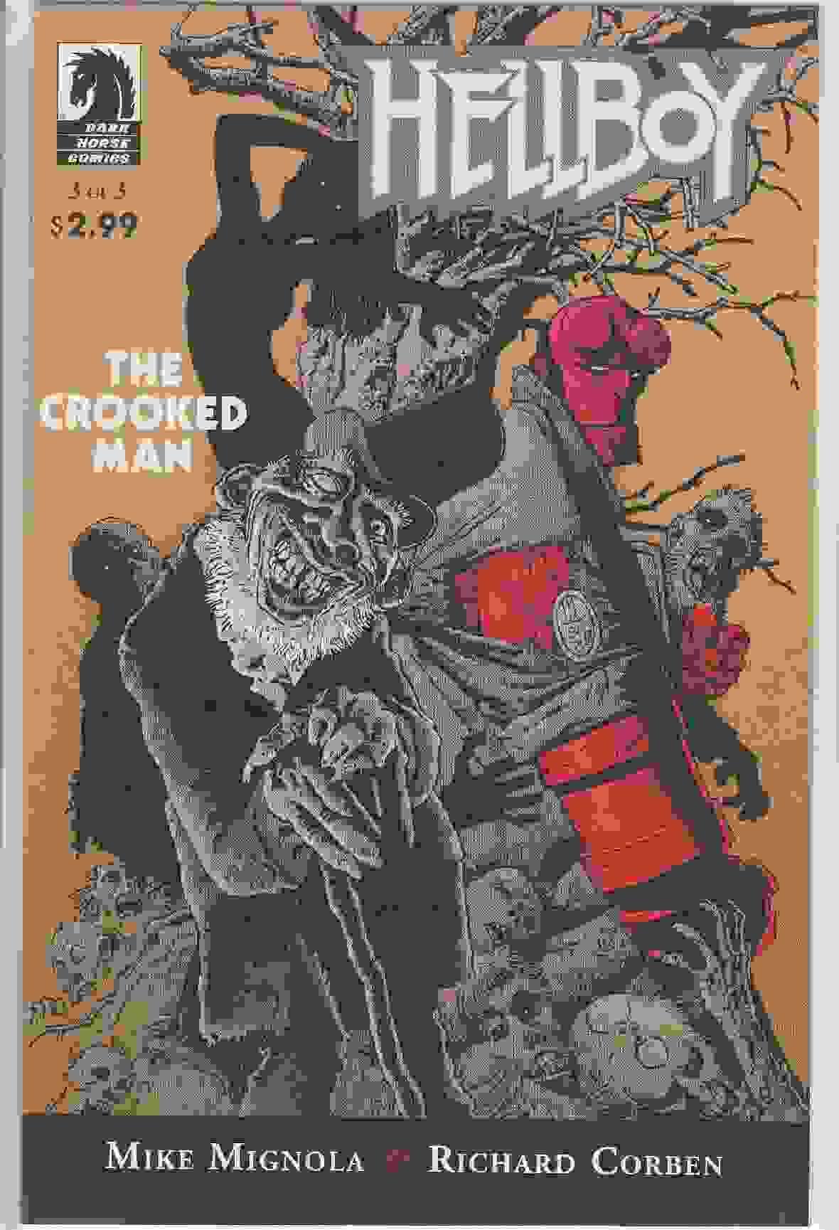Couverture de Hellboy (1994) -35- The crooked man 3