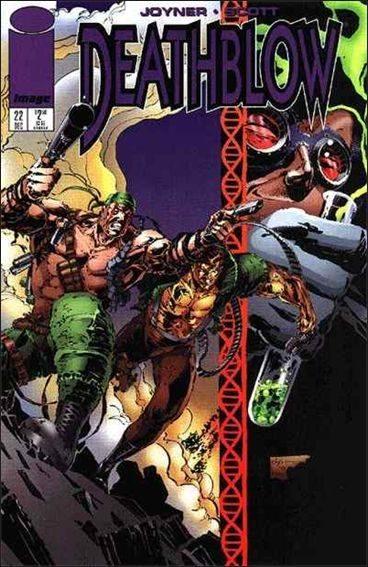 Couverture de Deathblow (1993) -22- Brothers in arms part 3