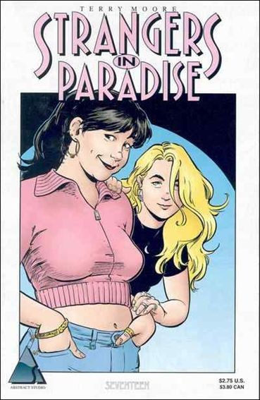 Couverture de Strangers in Paradise (1996) -17- My old addiction