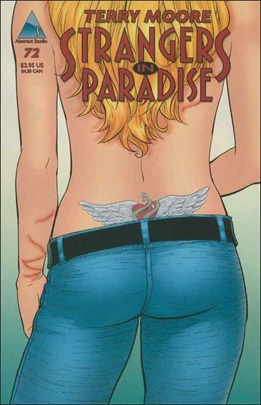 Couverture de Strangers in Paradise (1996) -72- Tatoo
