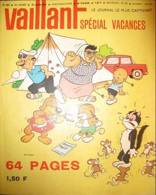 Couverture de Vaillant (le journal le plus captivant) -945- Vaillant