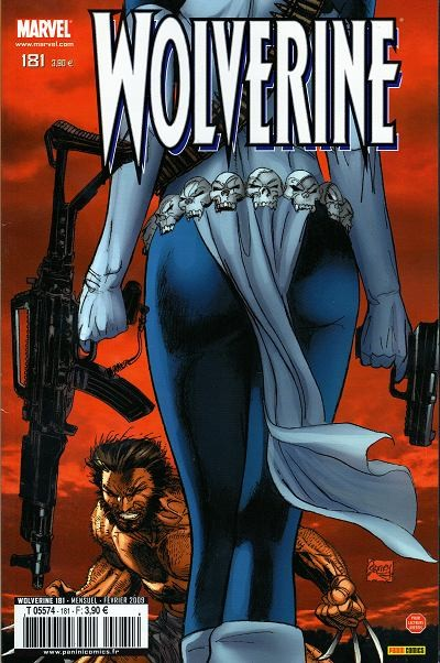 Couverture de Wolverine (Marvel France 1re série) (1997) -181- Cible : Mystique! (3)
