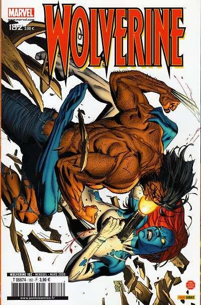 Couverture de Wolverine (Marvel France 1re série) (1997) -182- Cible : Mystique! (4)