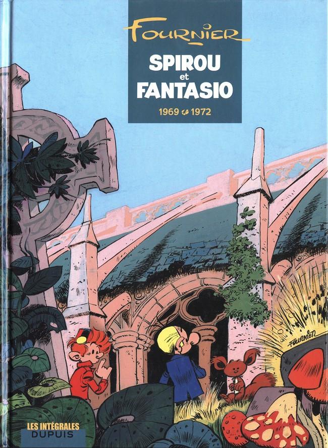 Couverture de Spirou et Fantasio -6- (Int. Dupuis 2) -9- 1969-1972