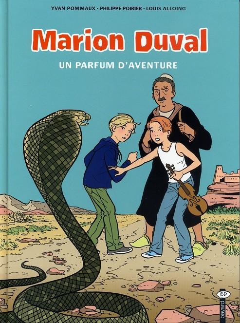 Couverture de Marion Duval -19- Un parfum d'aventure