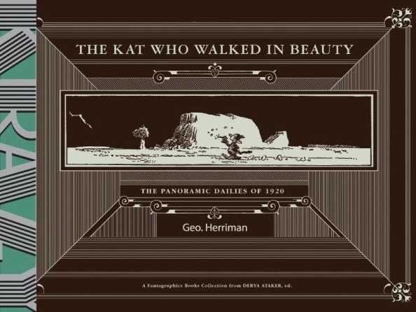 Couverture de Krazy & Ignatz (2002) -HS- The kat who walked in beauty: The Panoramic Dailies of 1920
