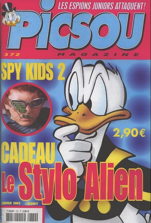 Couverture de Picsou Magazine -372- Picsou Magazine N°372