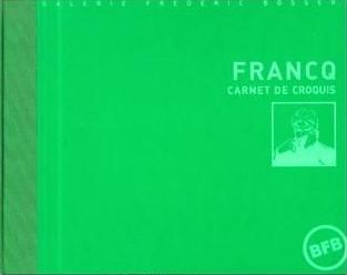 Couverture de (AUT) Francq - Carnet de croquis