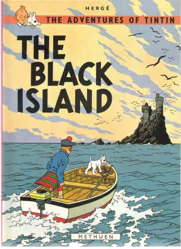 Couverture de Tintin (The Adventures of) -7- The Black Island