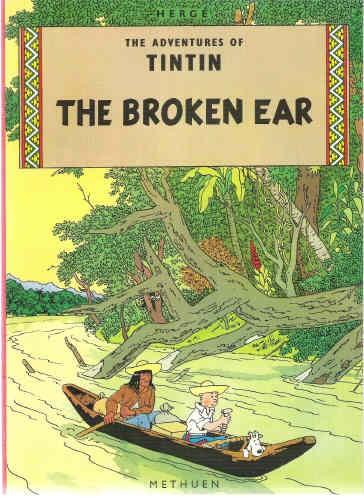 Couverture de Tintin (The Adventures of) -6- The Broken Ear