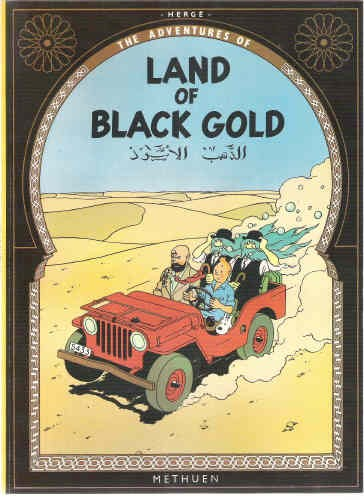 Couverture de Tintin (The Adventures of) -15- Land of Black Gold